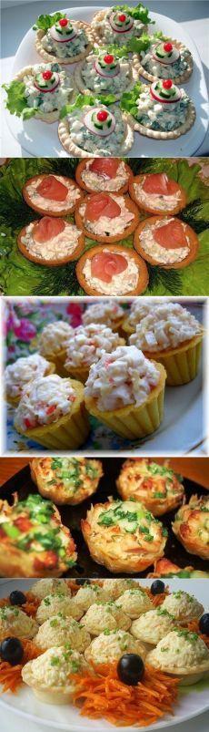 Лучшие начинки для тарталеток! 7 вариантов — Вкусные рецепты