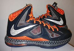 Men 158971: Nike Air Lebron James X 10 Bhm Black History Month Size 10 -> BUY IT NOW ONLY: $140 on eBay!