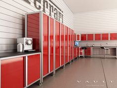 Professional Series Garage Cabinets by VAULT