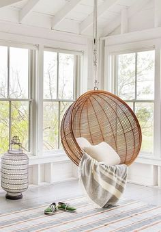 Scandinavian design is one of the most beautiful and elegant ways to decorate your home, and we absolutely love it. This is domino's ultimate guide to decorating your home with a Scandinavian design inspired interior. Decor, Interior Design, House Interior, Swinging Chair, Indoor Swing Chair, Interior, Room Design, Home Decor, Chair Design