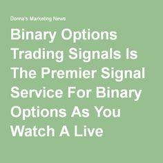 Free binary option signal service