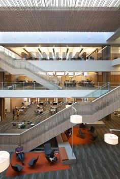 2014 Library Interior Design Award Winners : Image Galleries : Library Interior Design Award : IIDA *Odegaard Undergraduate Library, Seattle