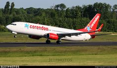 Photo of PH-CDE - Boeing 737-8GQ - Corendon Dutch Airlines