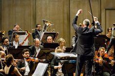 OSB e o maestro Neil Thomson. Foto: Cicero Rodrigues