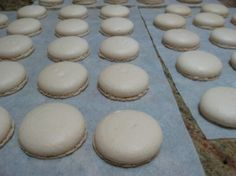 Plain Macaroons the Thermomix way or by hand. Macaron or macaroon, it makes no difference really, just ask Auguste Escoffier. Macaron's are not hard, as long as you understand all the rules. Egg White Recipes, Almond Recipes, Yummy Recipes, Macarons, Macaroon Recipes, Thermomix Desserts, High Tea, Sweet Treats, Yummy Treats