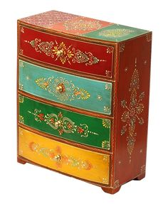 Bulk Wholesale Handmade 64 Wooden Jewelry Box with 2 Drawers