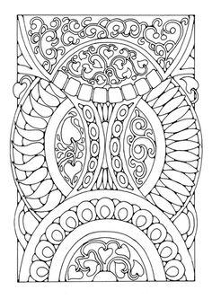 7cda08dc624cc7 Coloring page mandala Coloring Book Pages, Printable Coloring Pages, Free  Coloring Sheets, Abstract