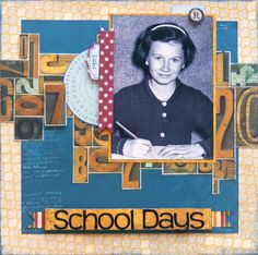 School page created with Juliet collection by Teena for BoBunny Club Kits. Visit www.myscrappinsho... to find out more. #BoBunny