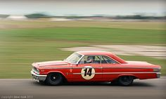 1963 Ford Galaxie 500 at speed!