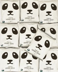 Tokyo Zoo Your daily packaging smile : ) PD Japanese Packaging, Cool Packaging, Food Packaging Design, Packaging Design Inspiration, Brand Packaging, Ueno Zoo, Japanese Candy, Food Design, Typography
