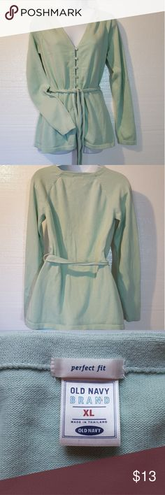 Old Navy Women's Cardigan 100% Cotton. Machine Washable. SZ XL Old Navy Sweaters Cardigans