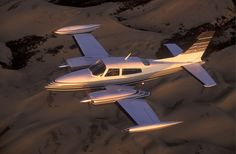 Cessna 310 - the power!