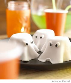 Halloween Snacks for Kids - Ghost Cakes Party Food - Parenting.com