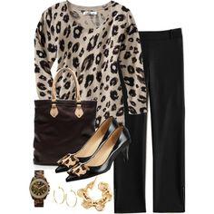 dressy leopard