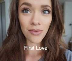 First Love LipSense topped with Sand Gloss | Senegence International long-lasting Lip color, ShadowSense eyeshadow, MakeSense foundation, BrowSense, BlushSense and MORE!