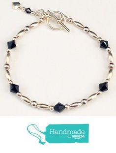 Swarovski Crystals, Beaded Bracelets, Personalized Items, Amazon, Handmade, Black, Jewelry, Amazons, Hand Made