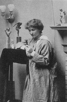 Malvina Hoffman, student of Rodin