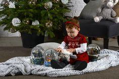 Tosia w sesji świątecznej
