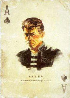 Fallout 2, Fallout Fan Art, Fallout Concept Art, Fallout Cosplay, Fallout New Vegas, Fallout Wallpaper, Yes Man, Deck Of Cards, Tarot