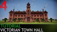 Minecraft Tutorials - Victorian Town Hall [Part 4/4]