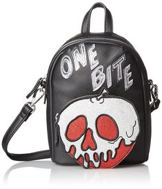 Disney by Danielle Nicole One Bite Crossbody, Black: Handbags: Amazon.com