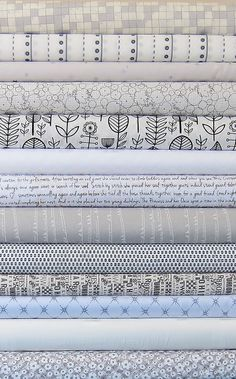Low Volume Fat Quarter Bundle - Custom Bundle - 13 Fat Quarters - 3.25 Yards Total. $36.00, via Etsy.