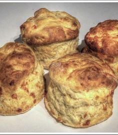 Glazed Cheese Scones