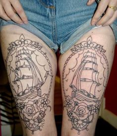 Unfortunately not my tattoos - I had these on my computer, no idea where they come from.
