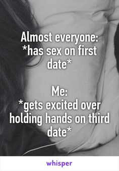 No sex on third date