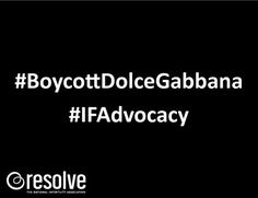 Infertility IVF IUI Boycott Dolce & Gabbana  I will miss you, my favorite sunglasses, but, I would rather were anything else by anyone else that doesn't hate on the fertility challenged!
