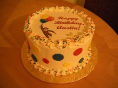 curious george | Main Made Custom Cakes