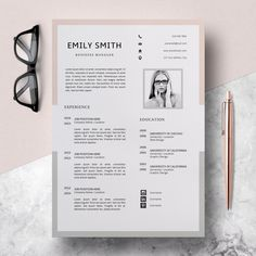 Resume Design Template Modern Resume Template Word Functional Resume Resume Template Simple ---CLICK IMAGE FOR MORE--- resume how to write a resume resume tips resume examples for student Template Cv, Modern Resume Template, Resume Templates, Design Templates, Cv Cover Letter, Cover Letter Template, Letter Templates, Cover Letters, Job Resume Format