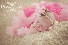 Baby Photography girl tutu ruffles Diana Whyte Photography