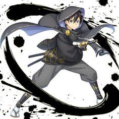 Kirito Kirigaya, Kirito Asuna, Anime Boy Hair, Anime Girl Dress, Sword Art Online, Online Art, Samurai, Sword Drawing, Popular Manga