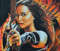 Watch more: https://www.youtube.com/channel/UCfWsUkz5X6KYdGMDn7isIIg Katniss Everdeen Speed Drawing, created using colored pencils. #katnisseverdeen #speeddrawing #visualart #speedart #hungergames