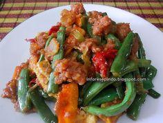 Tumis Buncis Kornet Sapi Kaleng/Resep Masakan Indonesia