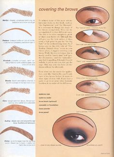 eyebrow threading step by step instructions