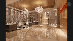 Luxurious living room/lobby
