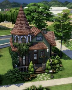 Sims 4 House Plans, Sims 4 House Building, Muebles Sims 4 Cc, Sims Free Play, Sims 4 House Design, Casas The Sims 4, Sims Four, Sims 4 Build, The Sims4