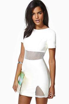 Wicked City Faux Leather Dress