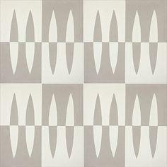 Skara 805 B customizable 8x8 deco concrete tile from Echo Collection
