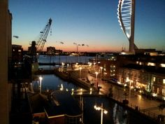 Gunwharf Quays in Portsmouth, Hampshire