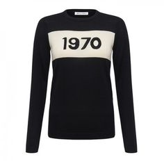 1970 Jumper - Black & Ivory