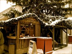 Christmas Market Stall in Berlin