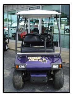 Eastern Carolina University (ECU) Custom Golf Cart