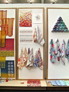 Rachel Parker: Textile Design at New Designers 2012