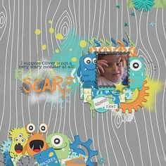 Layout using {Monsters Rule} Digital Scrapbook Collection by Dream Big Designs available at Sweet Shoppe Designs http://www.sweetshoppedesigns.com//sweetshoppe/product.php?productid=33178&cat=&page=1 #dreambigdesigns
