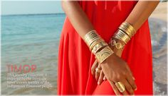 Anna Beck Jewelry - Made in Bali with Love. Available at Perch!