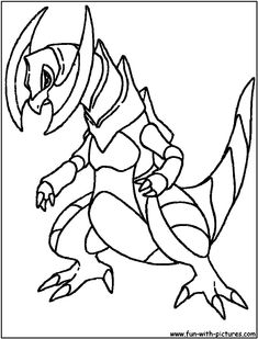 Pokemon Kingdra Coloring Pages From The Thousands Of Pictures