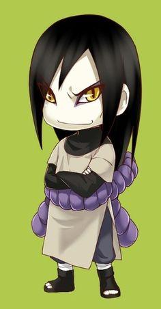 "Orochimaru (大蛇丸, Orochimaru) As one of the most powerful ninja Konohagakure ever produced and one of the ""Three Legendary Shinobi"" Naruto Sd, Sasuke And Itachi, Naruto Cute, Naruto Shippuden Sasuke, Anime Chibi, Anime Manga, Kawaii Anime, Akatsuki, Chibi Naruto Characters"